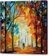 Fall New Original Acrylic Print