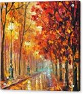 Fall Night Acrylic Print
