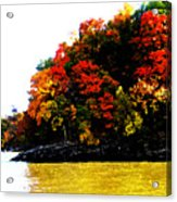 Fall On Grand Lake Acrylic Print