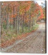 9018 - Fall On Murphy Lake Iv Acrylic Print
