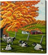 Fall On The Farm Acrylic Print