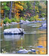 Fall On The Maury Acrylic Print