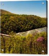 Fall On The Shenandoah River - West Virginia Acrylic Print