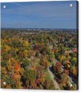 Fall Over Richmond Acrylic Print