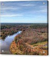 Fall Over Swift Creek Acrylic Print