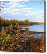 Fall Picture Acrylic Print