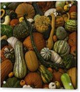 Fall Pile Acrylic Print