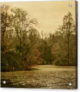 Fall Pond Acrylic Print