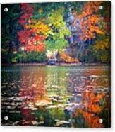 Fall Radiance Acrylic Print