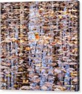 Fall Reflections #1277-4030 Acrylic Print