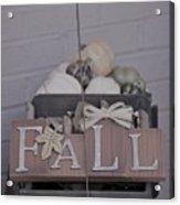 Fall S/c Acrylic Print