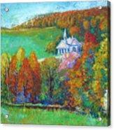 Fall Scene Acrylic Print