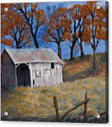 Fall Shed Acrylic Print