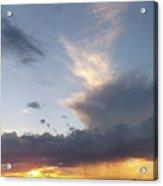 Fall Sky At Sunset Acrylic Print