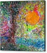 Fall Sun Acrylic Print by Jacqueline Athmann