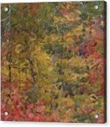 Fall Tapestry Acrylic Print