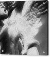 Fallen Angel Vertical Acrylic Print