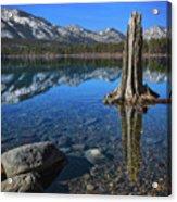 Fallen Leaf Lake Color Acrylic Print
