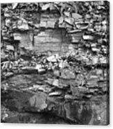 Fallen Rocks Acrylic Print