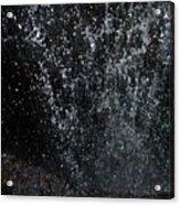 Falling Cavern Cascade Watkins Glen Acrylic Print