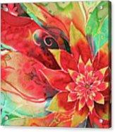 Falling Flower Acrylic Print