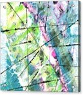Falling Further In Acrylic Print