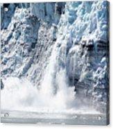 Falling Ice In Alaska Acrylic Print