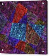 Falling Lashes Acrylic Print