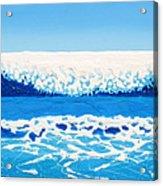 Falling Sea Acrylic Print