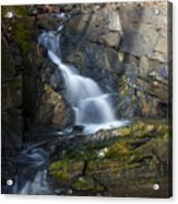 Falling Waters In February #2 Acrylic Print
