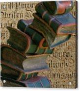 Falling Wisdom Acrylic Print
