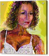 Fallingangel Acrylic Print