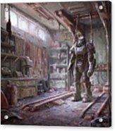 Fallout 4 Armour Acrylic Print