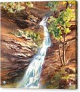 Falls At Hocking Hills Acrylic Print