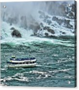 Falls Boat Acrylic Print