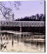 Falls Bridge Acrylic Print