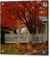Fall's Canvas Acrylic Print