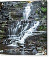 Falls Creek Gorge Trail Ithaca New York Acrylic Print