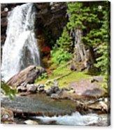 Falls Glacier National Park1 Acrylic Print
