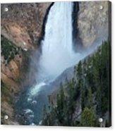 Yellowstone National Park Waterfalls Acrylic Print