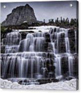 Falls In Glacier 1 Acrylic Print