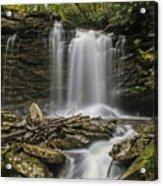 Falls Of Hills Creek 2  Acrylic Print