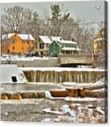 Falls on Exeter River Acrylic Print