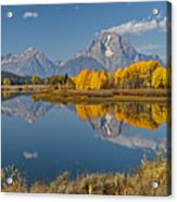 Falltime At Oxbow Bend Acrylic Print