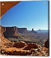 False Kiva Moab Utah Acrylic Print