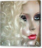 False Tears Acrylic Print