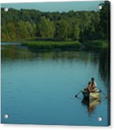 Family Fishing Acrylic Print