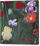 Family Flowers Acrylic Print