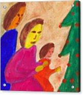 Family Praise Acrylic Print