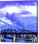 Famous Bridge Acrylic Print